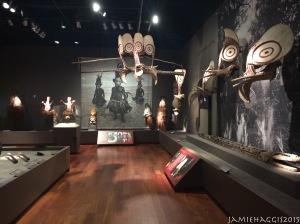 Spirit and Headhunters exhibit