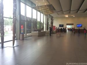 Entrance and front desk