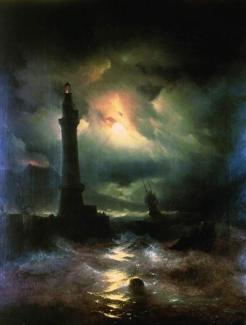 Neopolitan Lighthouse 1842